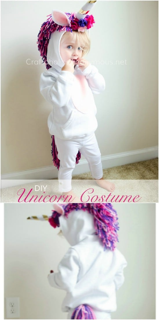 Homemade Unicorn Costume