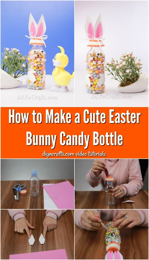 Bunny Bottle Candy Holders