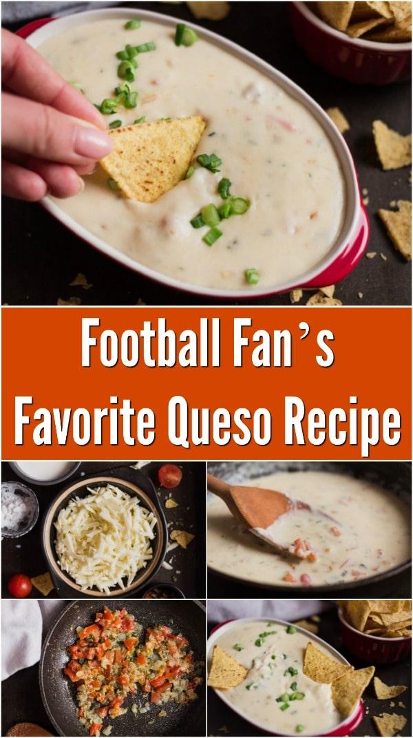 Football Fan's Favorite Queso Recipe