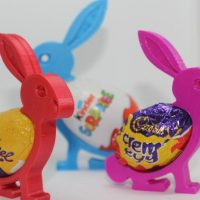 Easter Egg Bunny Holder Decoration