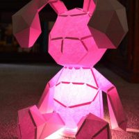 Easter Bunny that Lights Up
