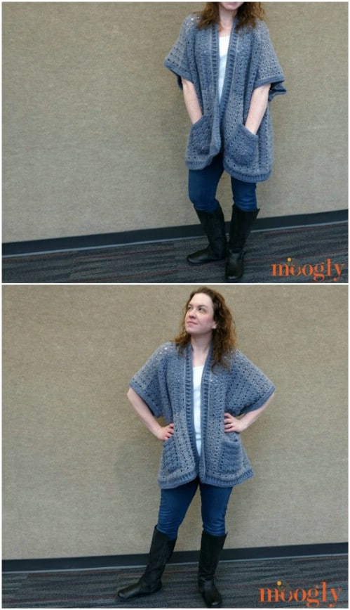 Short Sleeved Riverbend Cardigan