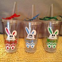 Easter Bunny Tumbler