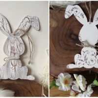 Easter Bunny Country Decor