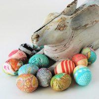 DIY Upcycled Silk Egg Dyeing Kit
