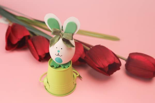 How to Make a Cute Easter Egg Bunny Decoration