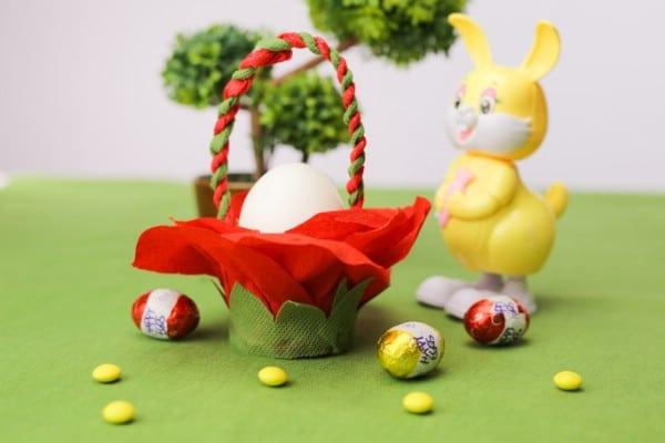 Finished Easter Basket.