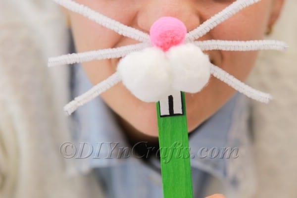 Super Fun And Easy DIY Bunny Nose
