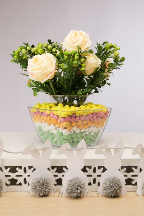How to Make a Colorful Candy Vase Decoration for Easter