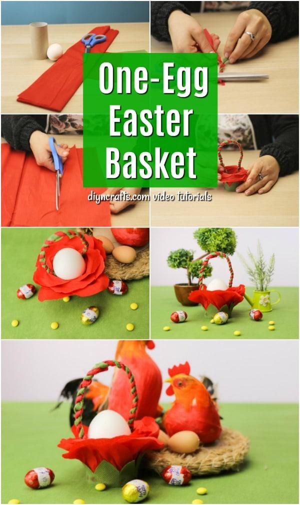 Easy DIY One Egg Easter Basket