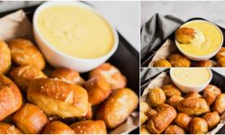 Homemade Soft Pretzel Bites With Cheese Sauce {Video Recipe}