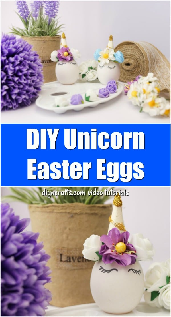 How to Make Colorful, Whimsical Unicorn Easter Eggs