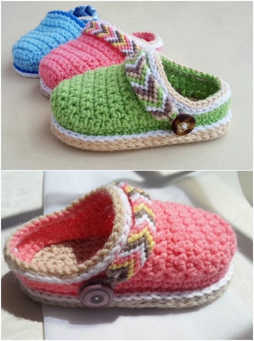 Adorable Crochet Baby Croc Pattern