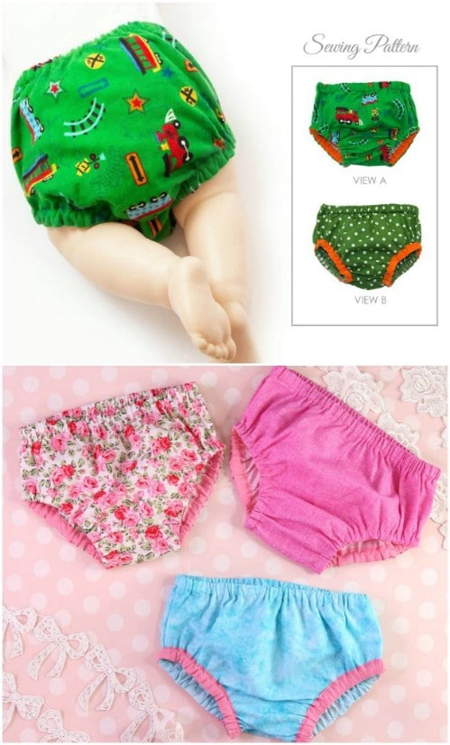 Easy Lined Diaper Cover