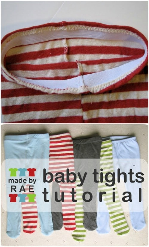 Easy To Sew Baby Tights Pattern