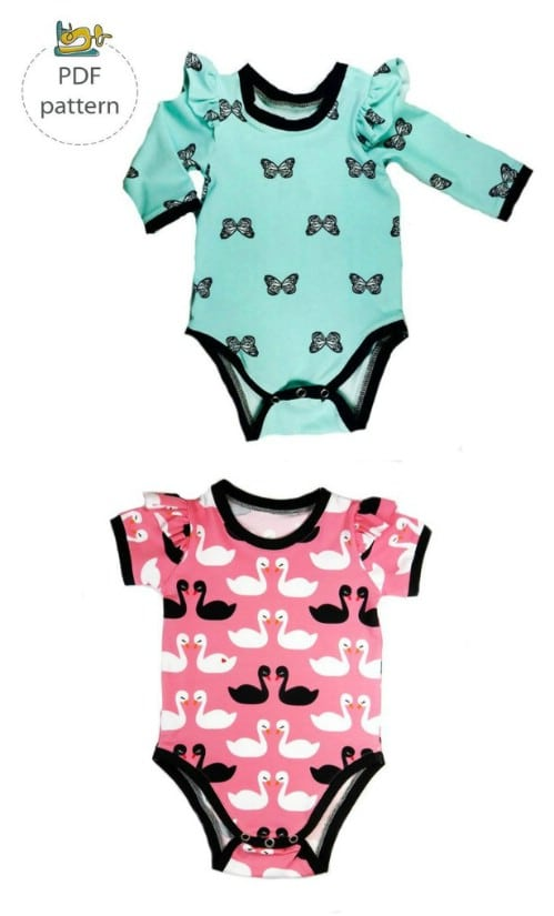 7b3f01d0c 40 Adorable DIY Baby Sewing Patterns Anyone Can DO - DIY   Crafts