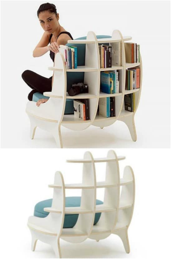 Built In Bookcase Chair