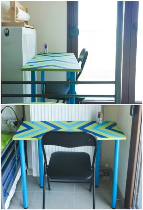 DIY Kids' Desk On A Budget