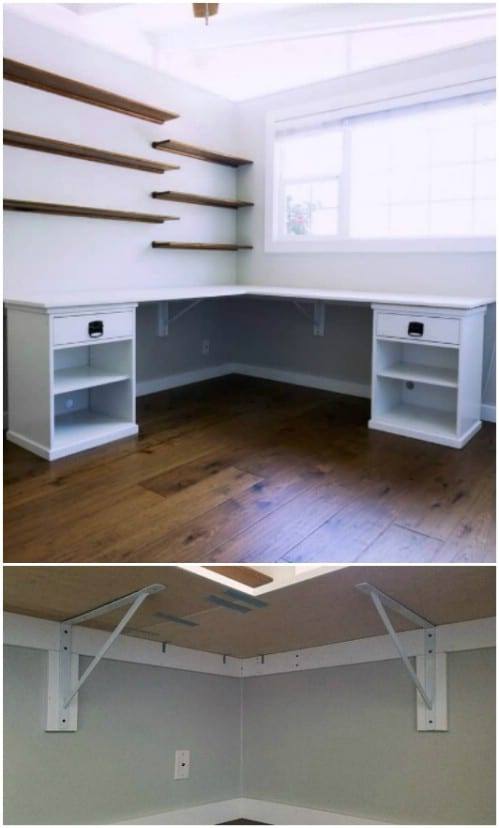 Easy To Build L Shaped Desk