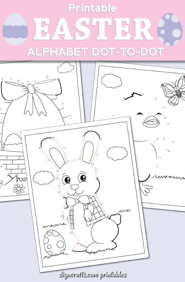 Best Easter Dot-To-Dot Activity Pages For Kids With Free ...