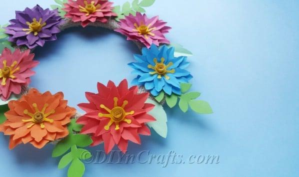 Floral Wreath Printable